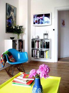 Krzesło zaprojektowane w 1950 roku przez Charlesa i Ray Eames