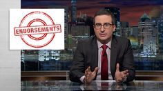 Last Week Tonight with John Oliver: Endorsements (Web Exclusive)