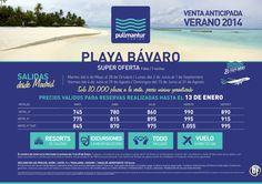 Ampliación Venta Anticipada Playa Bávaro Verano 2014 ultimo minuto - http://zocotours.com/ampliacion-venta-anticipada-playa-bavaro-verano-2014-ultimo-minuto/