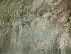 Cy Twombly - Untitled 1968 In 1959 he went to Italy, settling permanently in Rome. It was here that he began to work on a larger scale and distanced himself from his former expressionist imagery. Cy Twombly Art, Cy Twombly Paintings, Robert Rauschenberg, Abstract Expressionism, Abstract Art, Abstract Paintings, Picasso Paintings, Richard Diebenkorn, Francis Bacon