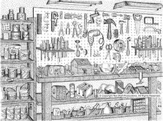 """Not-Wolf-Productions - """"Dad's Workbench"""""""