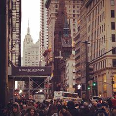 January 14: Fifth Avenue. Photo by @KatieBlaine