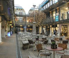 Kingly Court, off London's Carnaby Street