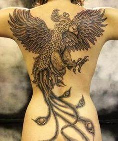 Quelle est la signification des tatouages de phoenix