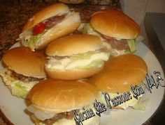 Ricetta finger food ... mini hamburger