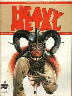 Heavy Metal December 1980