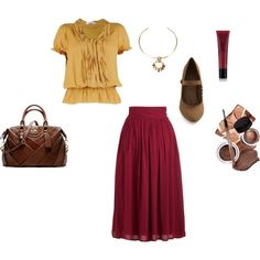 """""""Trip to The Apple Barn"""" by rachael-phillips on Polyvore"""