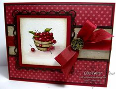 Bowl of Cherish Friendships by lisa foster - Cards and Paper Crafts at Splitcoaststampers