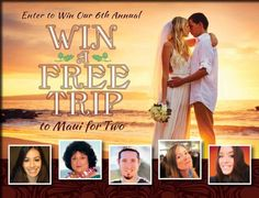 Win a free trip to Maui for two || Sweepstakes and Giveaways