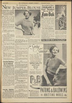 Issue: 24 Jul 1937 - The Australian Women's Wee...