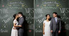 backdrop para fotos de casamento desenhado - Mini-wedding estilo campo