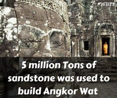 #didyouknow it took 5 million #sandstone for building #angkorwat Follow for more #trivia on #monuments in the #world