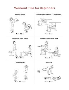 #Workout-Tips-for-#Beginners
