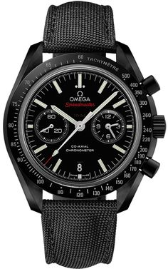 311.92.44.51.01.007 DARK SIDE OF THE MOON Omega Speedmaster Moonwatch Co-Axial Chronograph Mens Watch