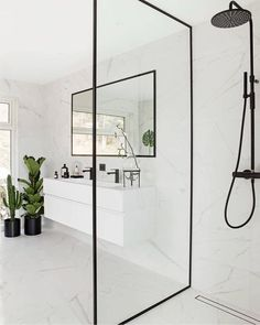 Decorate a small bathroom? 10 tips for your ideal bathroom inspiration . - Decorate a small bathroom? 10 tips for your ideal bathroom inspiration small bathroom wit - White Marble Bathrooms, Small Bathroom, Bathroom Ideas, Bathroom Inspo, Guys Bathroom, Colorful Bathroom, Bathroom Black, Mirror Bathroom, Bathroom Organization