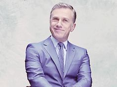 Christoph Waltz Daily. This gif is magnificently sexy.