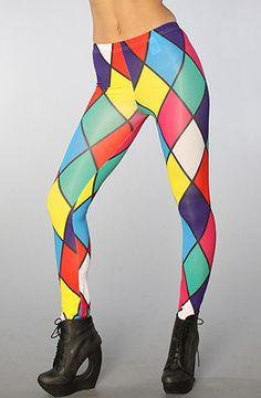 The Colored Diamond Supply Legging by Joyrich