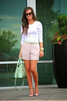 Blush + Mint