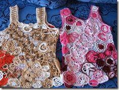 irish crochet tops for kids
