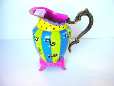 Mad Hatter Tea Party Vintage Silver Plated by BuzyBeeBlooms, $75.00