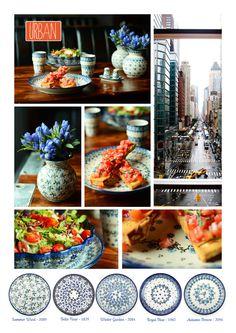 Bunzlau Castle    new decorations #urban #romantic #Polishpottery #pottery #tableware #home #bunzlau #BunzlauCastle #Stoneware #Bluekitchen #polishblue #Bunzlauservies #kitchen #textile #coffee #tea #teatime #dinner #blue #bake #baking #countrylife #bunzlaucastle #country #blue #blueandwhite #trendy #bohochic #home #handmade #tableware Emma Bridgewater, China Plates, Polish Pottery, Hand Painted Ceramics, Sunday Brunch, Winter Garden, Plate Sets, Bone China, Tea Time