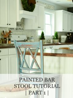 Bar Stool Tutorial (part 1) | www.missmustardseed.com
