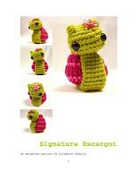 Vyshevok scheme. Knit and Crochet: Snail