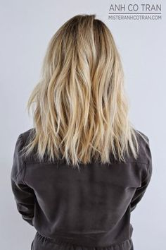 Hair cut - textured lob