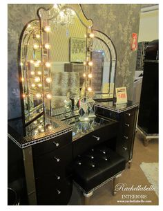 1930's inspired Hollywood Glam at Finesse Home Living