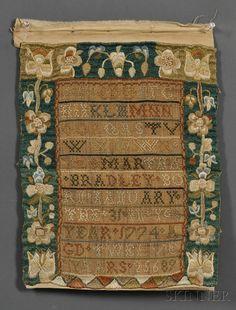 MARTHA BRADLEY BORN JANUARY THE 31 IN Ye YEAR 1774 AGD TWELVE YEARS, Dracut, Massachusetts, 1786