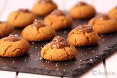 Receta de Galletas de mantequilla de cacahuete y Nutella