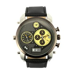 Relógio de pulso fashion oversize | Relógios | | TriClick por R$82,90