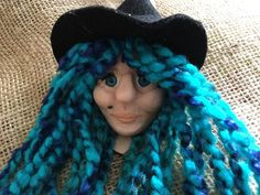 Your place to buy and sell all things handmade Witch Face, Kitchen Witch, Wooden Spoons, My Etsy Shop, Crochet Hats, Handmade, Color, Knitting Hats, Colour
