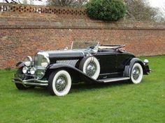 Vintage Cars Classic 1929 Duesenberg Model J Convertible Coupe Auto Retro, Retro Cars, Vintage Cars, Duesenberg Car, Auburn Car, Automobile Companies, Roadster, Top Cars, Unique Cars
