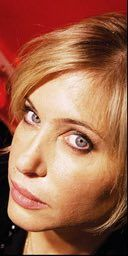 Brix Smith, ex-wife of Mark E Smith of The Fall, 13/12/05