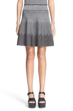 Opening Ceremony Jacquard Knit Skirt