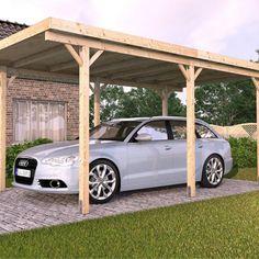 DIY Carport Kits Design 24 (DIY Carport Kits Design design ideas and photos Enclosed Carport, Pergola Carport, Pergola With Roof, Cheap Pergola, Pergola Shade, Patio Roof, Diy Pergola, Pergola Kits, Gazebo