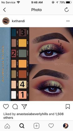 Anastasia hills subculture palette look
