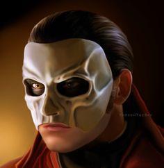 Gerard Butler as Erik from Phantom of the Opera (2004)