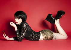 Mellisa Clarke • photo by Gemma Edwards Death Metal, Cyberpunk, Rockabilly, Diesel, Grunge, Celebrity Gossip, Hottest Photos, Pin Up Girls, Female Models