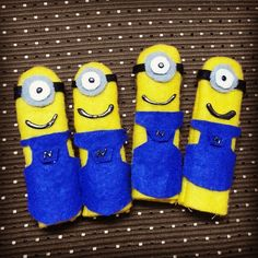 My First Batch of Minion Finger puppets :D