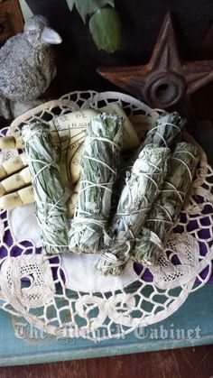 Herbs:  Black Sage Mugwort Wand for #Smudging Clearing, by TheMagickCabinet.