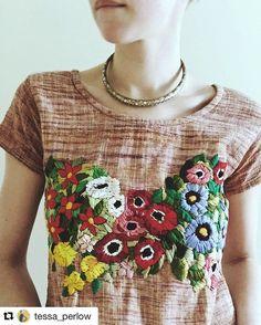 Tessa Perlow Embroidery