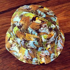 4ea18266 It's a jungle out there - dress accordingly. custom printed jungle printed  bucket hat by