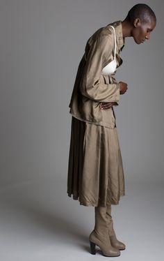 Comme Des Garcons Skirt Set Designer Vintage Fashion
