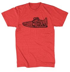 Run Texas - T-shirt (2 Color Options) – Tumbleweed TexStyles