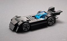 Vehículos de películas de ciencia ficción hechos en LEGO