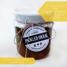 Labels for baked treats