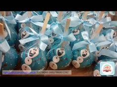 Maçã do amor de chocolate Frozen! #frozen #maçãfrozen #letitgo #olaf #maçãdoamor #frozenapple #chocolateapple #confeitaria #doce #personalizado #elsa #ana #gelo #aventuracongelante