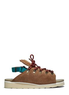 Chunky Suede Hiking Sandals